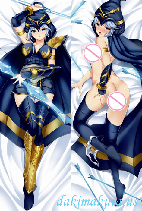 League of Legends Ashe Anime Dakimakura Japanese Pillow Cover