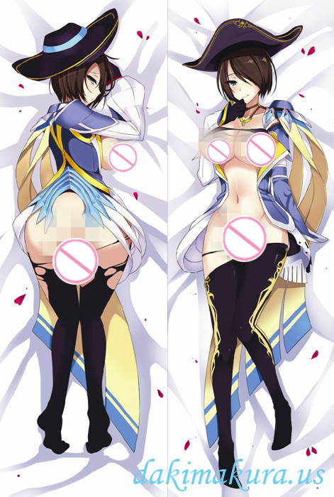 League of Legends Royal Guard Fiora Anime Dakimakura Japanese Pillow Cover