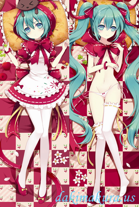Little Red Hood Hatsune Miku Anime Dakimakura Japanese Special Edition Pillow Cover