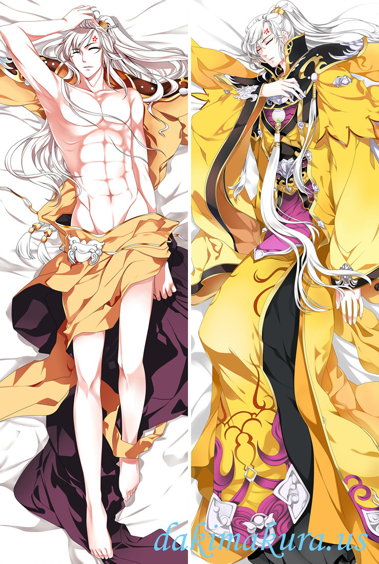 Chinese Online Game Character Male Full body pillow anime waifu japanese anime pillow case