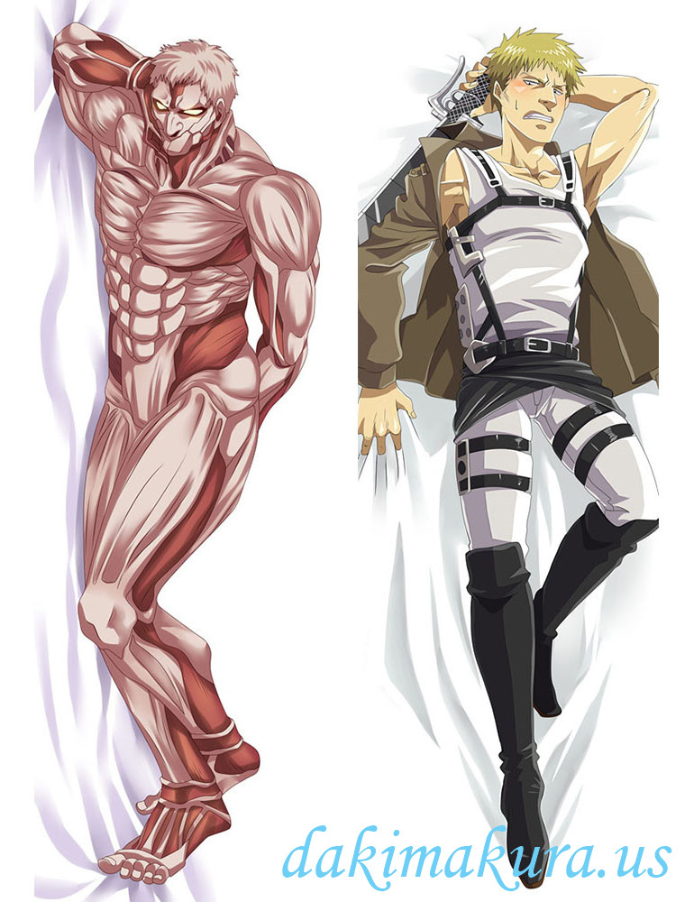 Attack on Titian Male Anime Dakimakura Japanese Hugging Body Pillow Covers