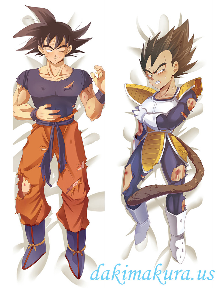 Goku and Vegeta - Dragon Ball Male Anime Dakimakura Japanese Hugging Body Pillow Covers