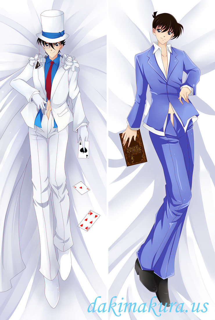 Kaito Kid and Shinichi Kudo - Detective Conan Male Anime Dakimakura Japanese Hugging Body Pillow Cover
