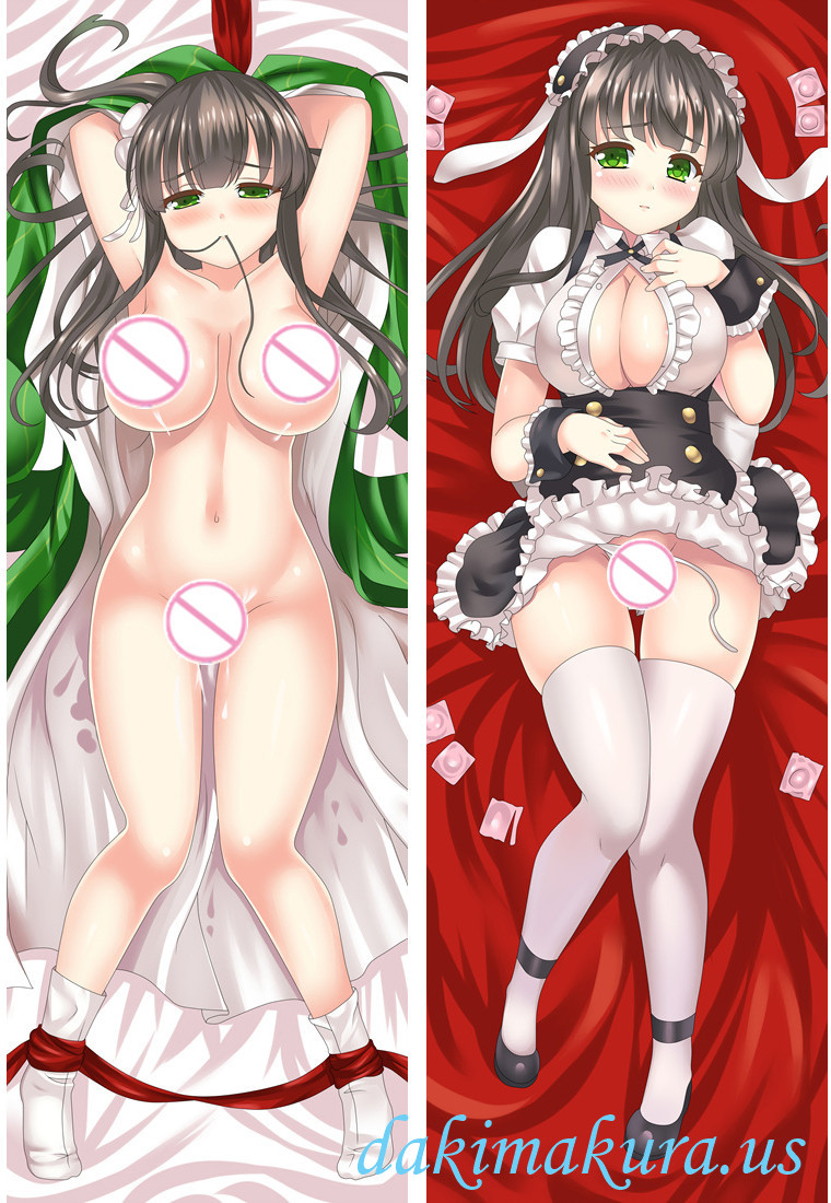 Chiya Ujimatsu - Is the Order a Rabbit Anime Dakimakura Japanese Hugging Body Pillow Cover