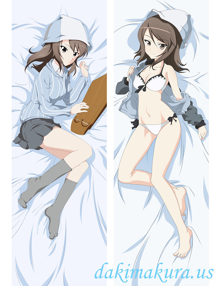 Girls und Panzer Anime Dakimakura Japanese Hugging Body Pillow Cover