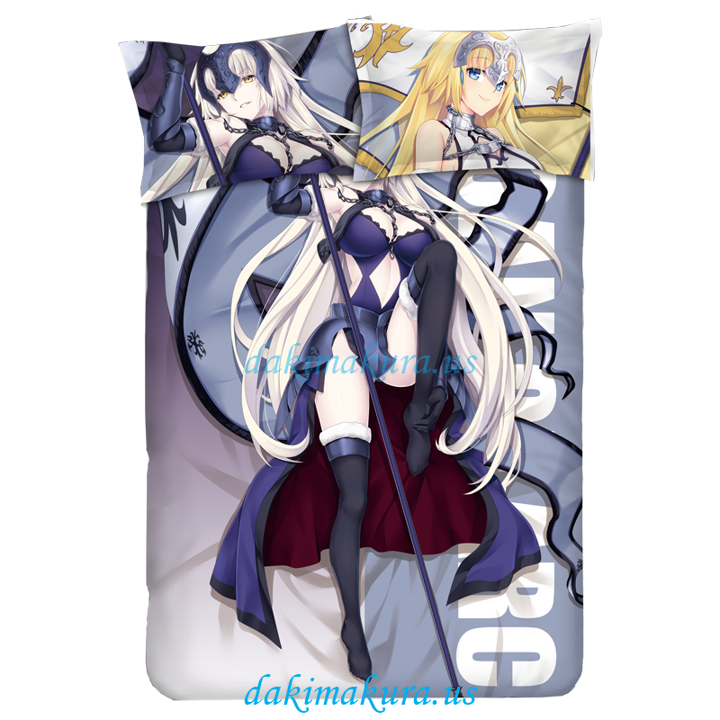 Jeanne d'Arc - Fate Grand Order Anime Bed Blanket Duvet Cover with Pillow Covers