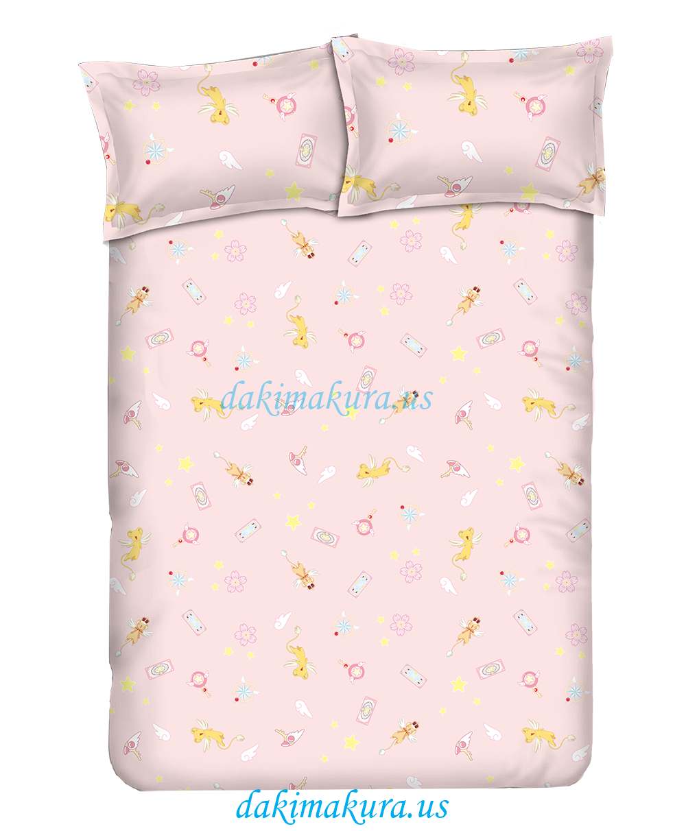 Cardcaptor Sakura The Movie Anime Bedding Sets,Bed Blanket & Duvet Cover,Bed Sheet with Pillow Covers