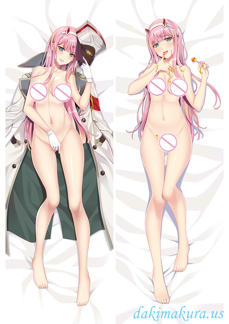 Zero Two 002-DARLING in the FRANXX Japanese character dakimakura pillow cover