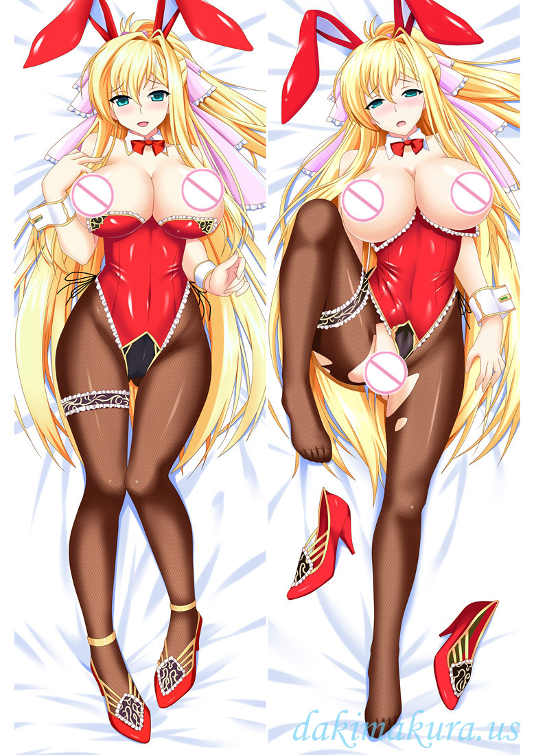Blonde licking girl New arrival body dakimakura pillowcases