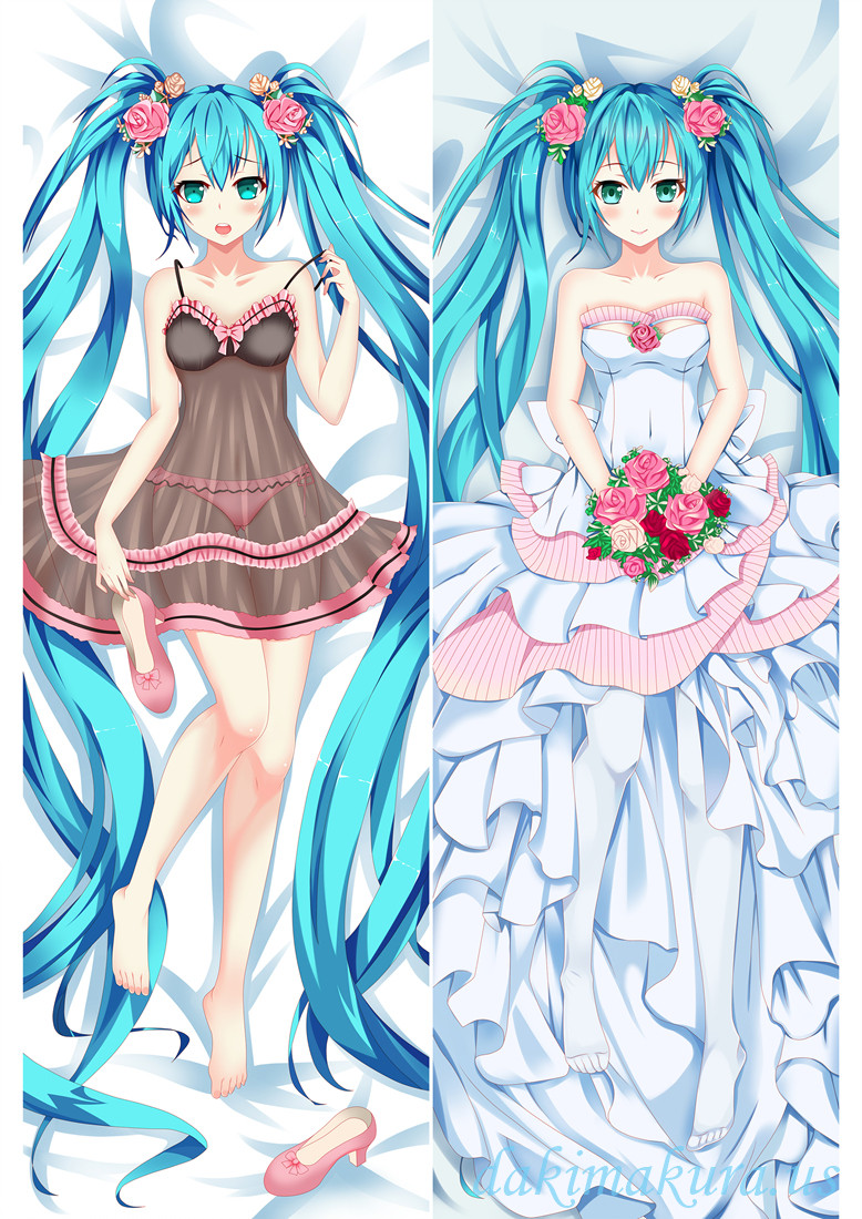 Hatsune Miku Snow - Vocaloid Anime Dakimakura Hugging Body PillowCases