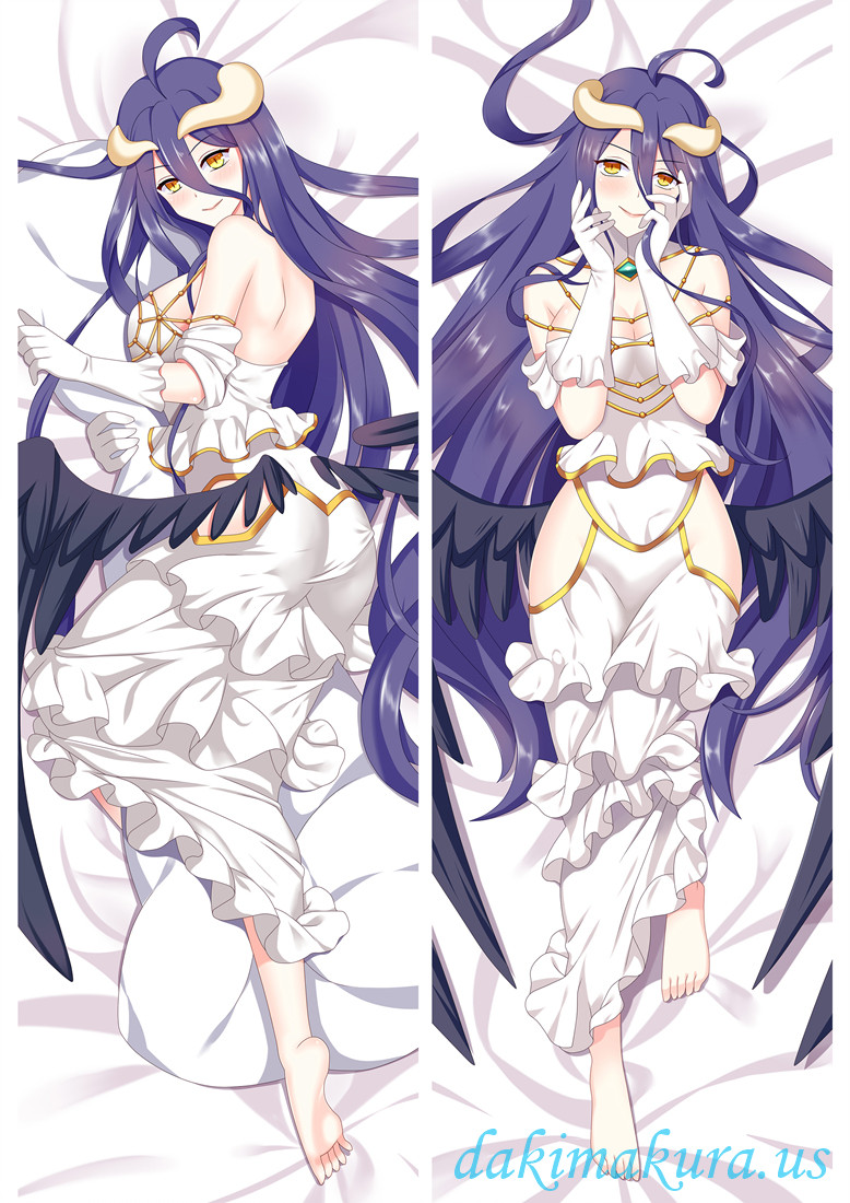 Albedo-OVERLORD Anime Dakimakura Japanese Hugging Body PillowCase