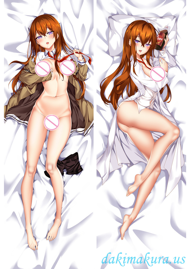 Kurisu Makise - Steins Gate Full body waifu japanese anime pillowcases