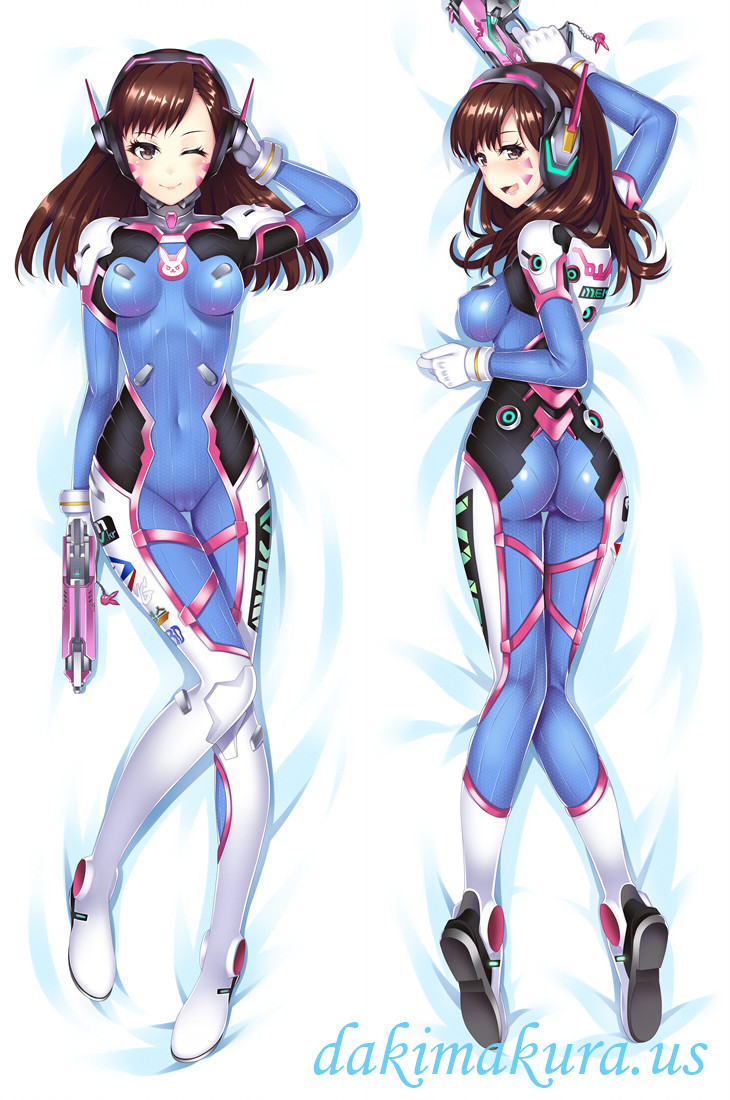 D.VA - Overwatch Anime body dakimakura japenese love pillow cover