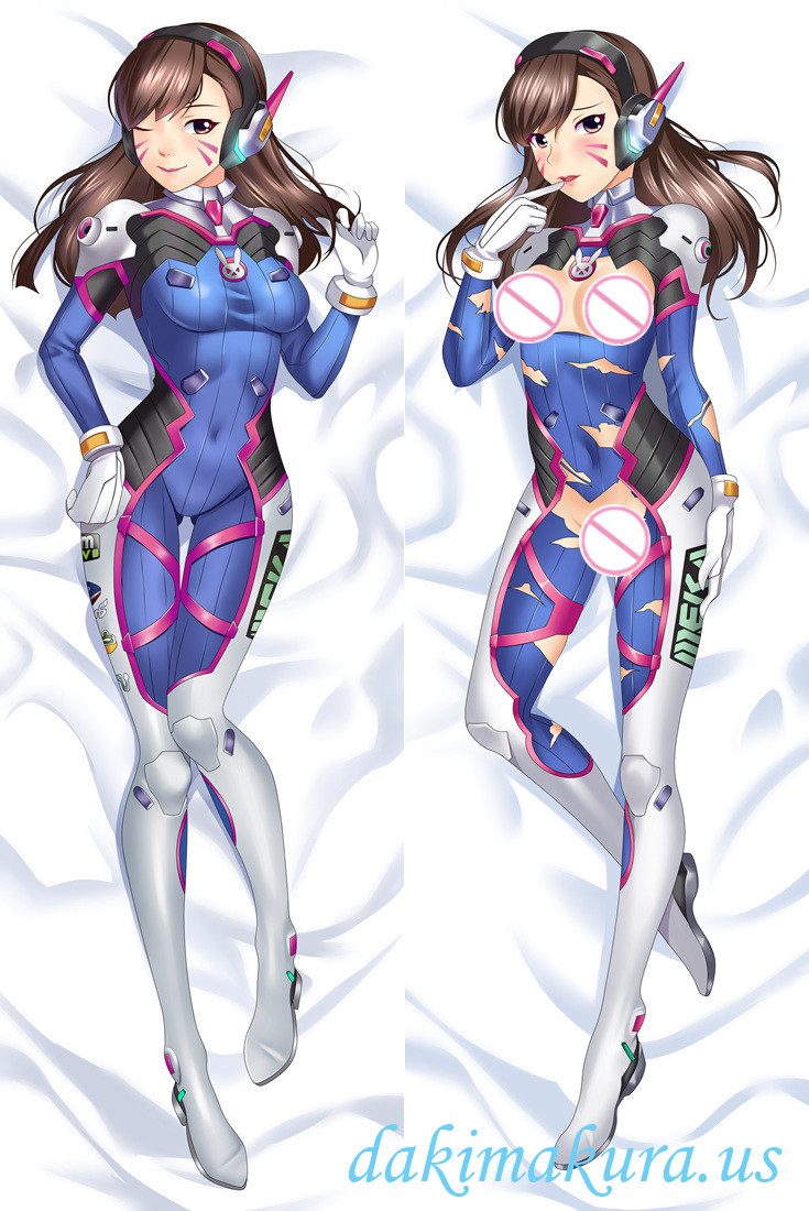 D.VA - Overwatch Anime Dakimakura Japanese Hug Body PillowCases