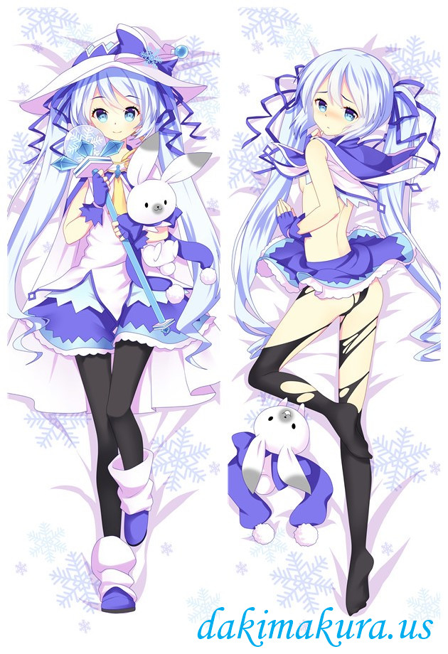 Snow-Hatsune Miku - Vocaloid Anime Dakimakura Love Body PillowCases
