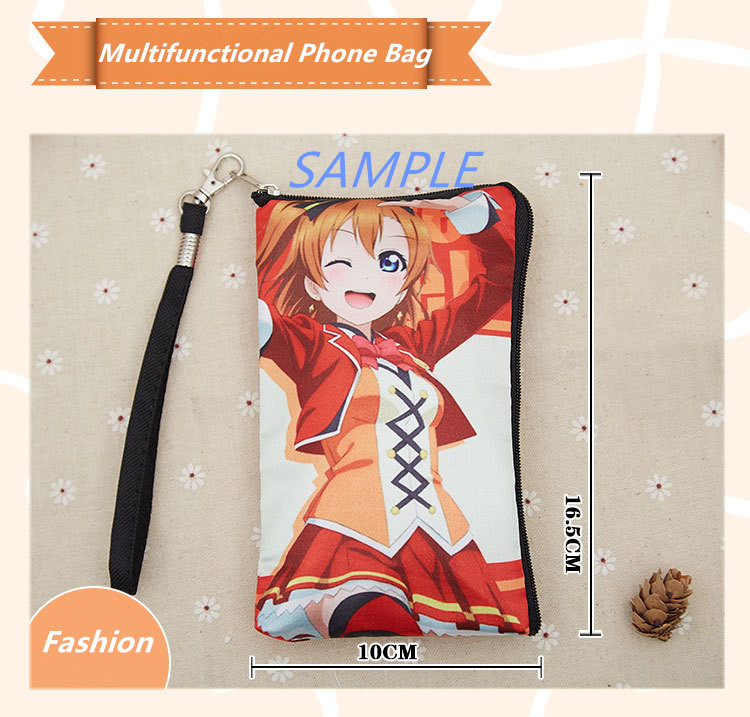 Conditional Free Gifts - Ram and Rem -Re Zero Multifunctional Phone Bag