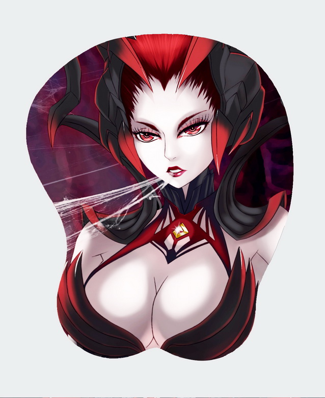 3D Mousepad-Soft Breast Anime Health Friendly Mat Wrist Rest