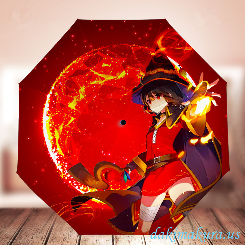 Megumi - KonoSuba Waterproof Anti-UV Never Fade Foldable Anime Umbrella