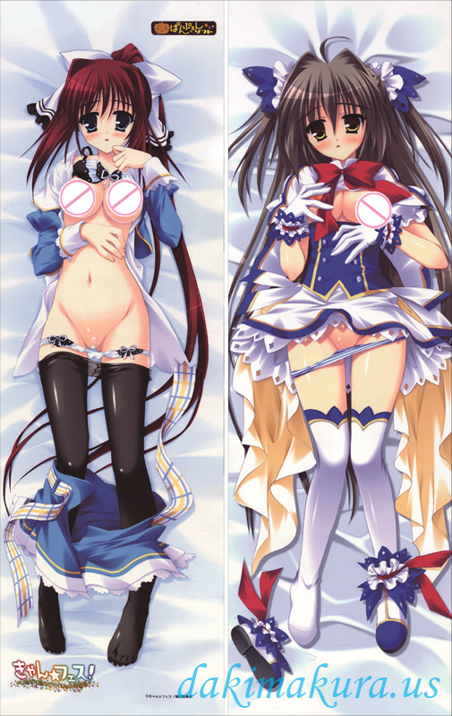 Can Fes! Itazura Majo to Naisho no Gakuensai - Toyohime Minori - Aigusa Mari PILLOW COVER