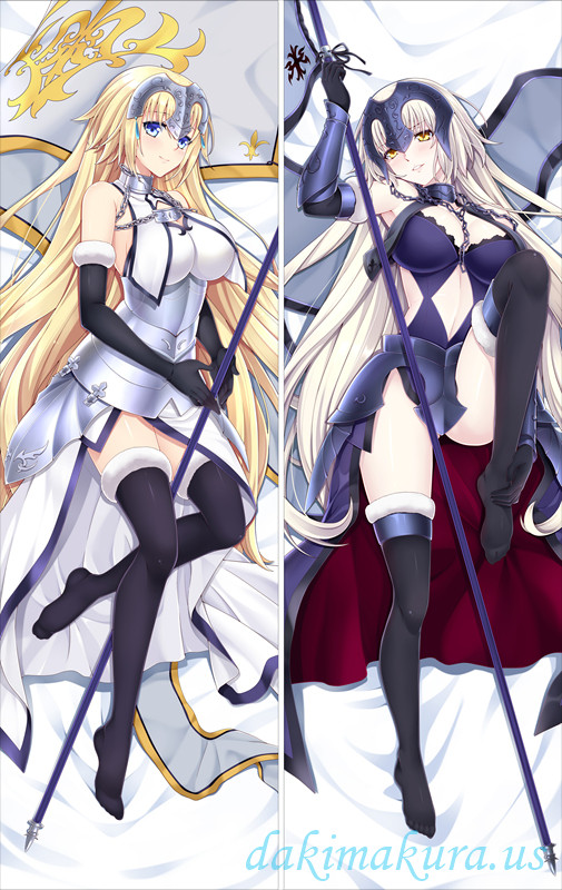 Fate Grand Order Jeanne la Pucelle Anime Dakimakura Pillow Cover