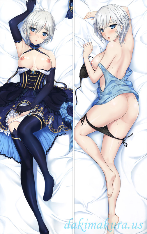 Anime Dakimakura Pillow Case The Idolmaster Cinderella Girls Anastasia Hugging Body PillowCases