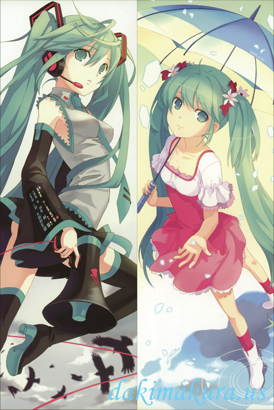 Vocaloid - Hatsune Miku Dakimakura 3d japanese anime pillow case