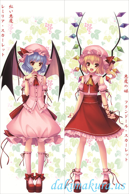 TouHou Project - Flandre Scarlet - Remilia Scarle Pillow Cover