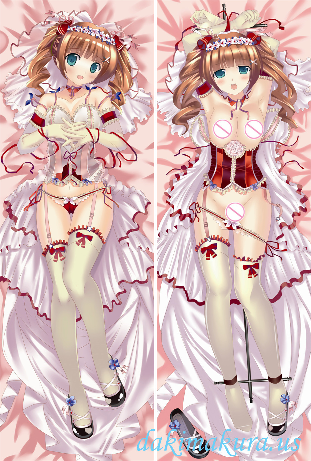 The Idolm@Ster CINDERELLA GIRLS Full body waifu anime pillowcases