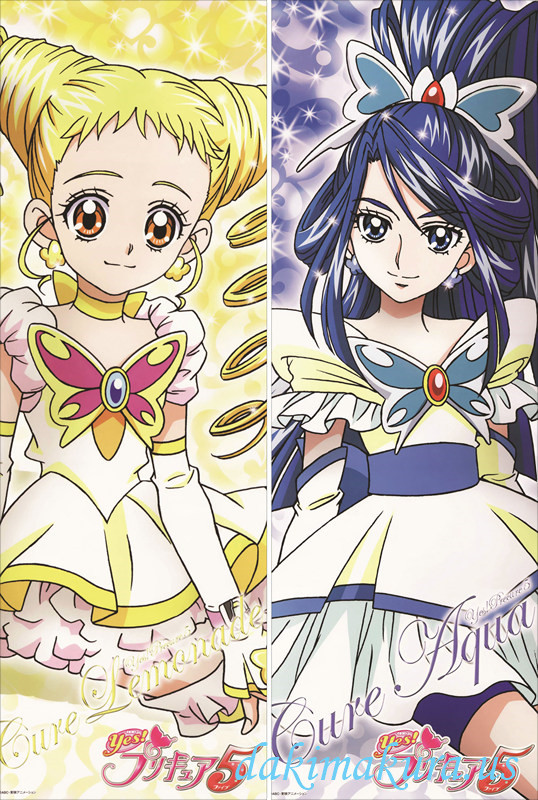 Pretty Cure - Cure Lemonade Pillow Cover