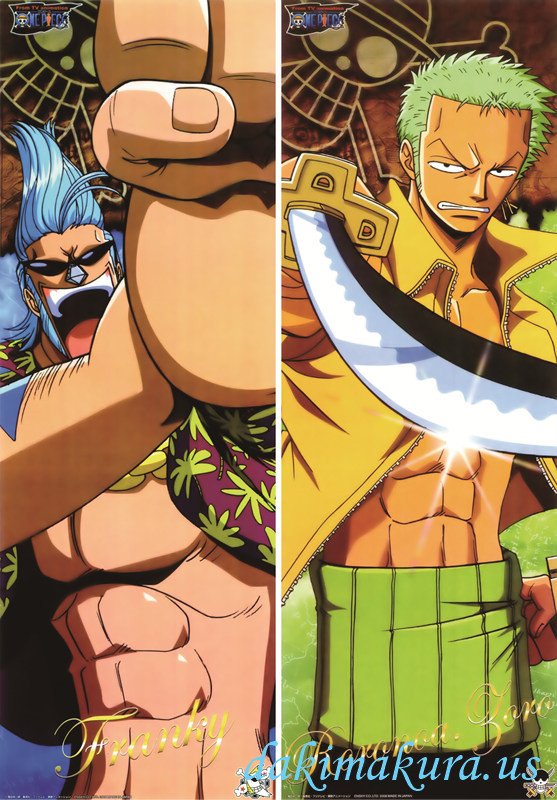 One Piece - Roronoa Zoro Full body waifu anime pillowcases