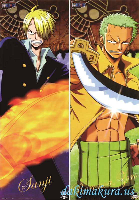 One Piece - Roronoa Zoro - Sanji Full body waifu anime ...
