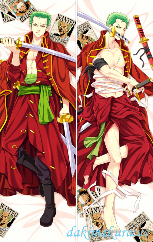 One Piece - Roronoa Zoro Dakimakura 3d pillow japanese anime pillowcase