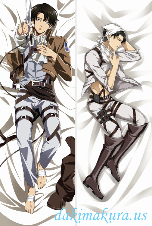 Attack on - Levi AckermanTitan Full body waifu anime pillowcases