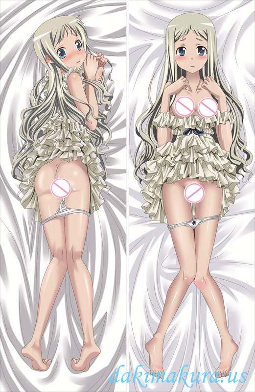 Anohana The Flower We Saw That Day - Meiko Honma Anime Dakimakura Hugging Body Pillow Cover
