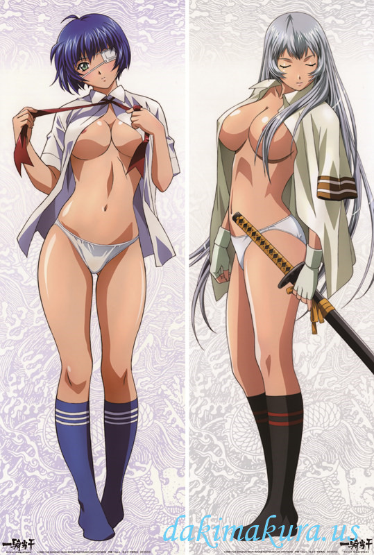 Battle Vixens - Shimei Ryomou Anime Dakimakura Hugging Body Pillow Cover
