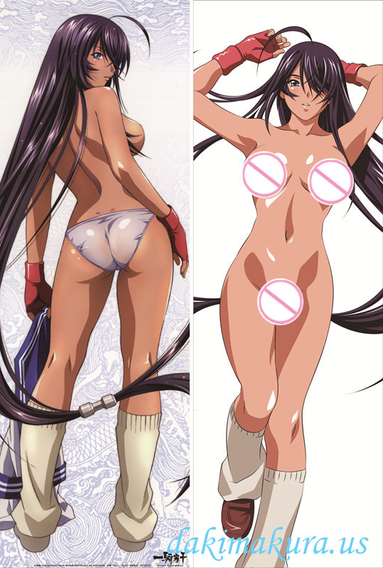 Battle Vixens - Kanu Unchou Anime Dakimakura Hugging Body Pillow Cover