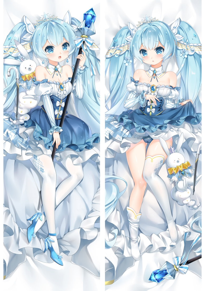 2019 New Snow Miku Anime Dakimakura Japanese Love Body Pillow Cover
