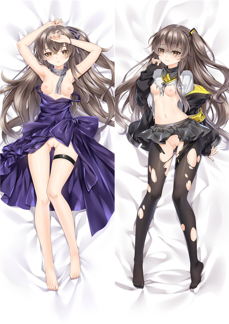 Girl's Frontline UMP45 Anime Dakimakura Japanese Love Body Pillow Cover