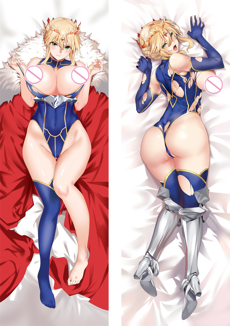 Fate Grand Order Altria Pendragon Anime Dakimakura Japanese Love Body Pillow Cover
