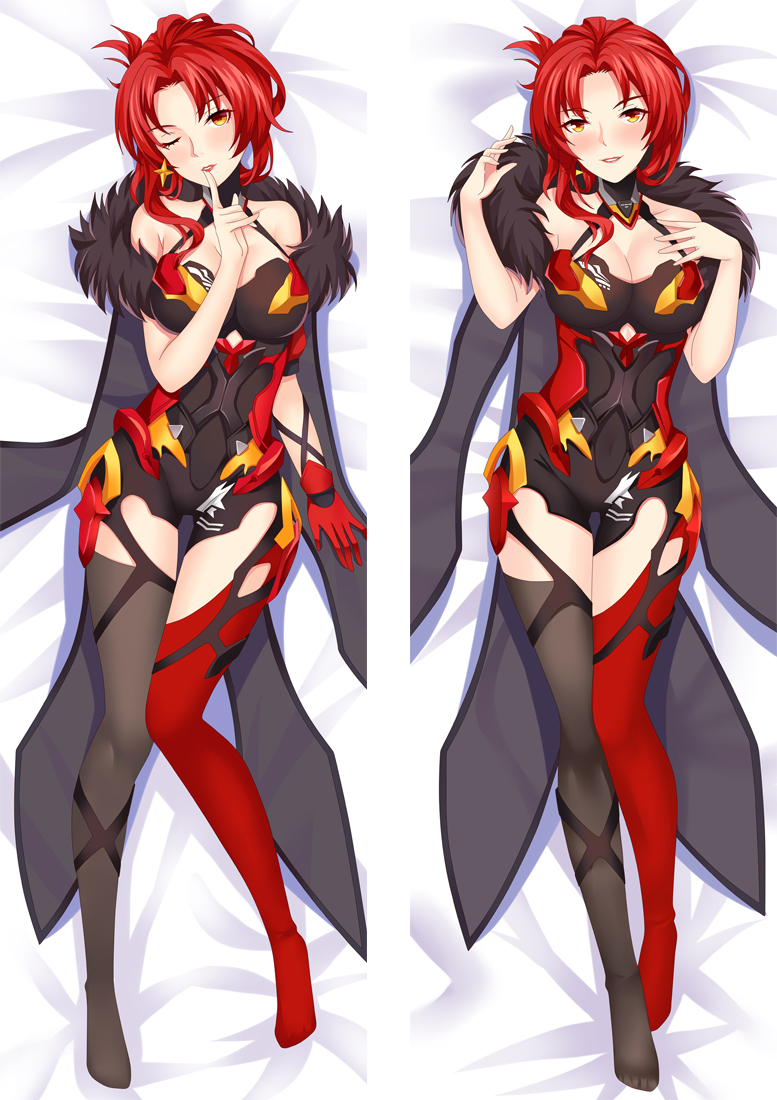 Honkai Impact 3rd Anime Dakimakura Japanese Love Body Pillow Cover