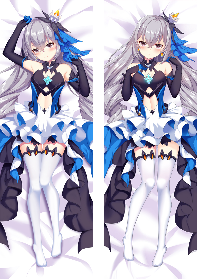 Honkai Impact 3rd Bronya Zaychik Anime Dakimakura Japanese Love Body Pillow Cover
