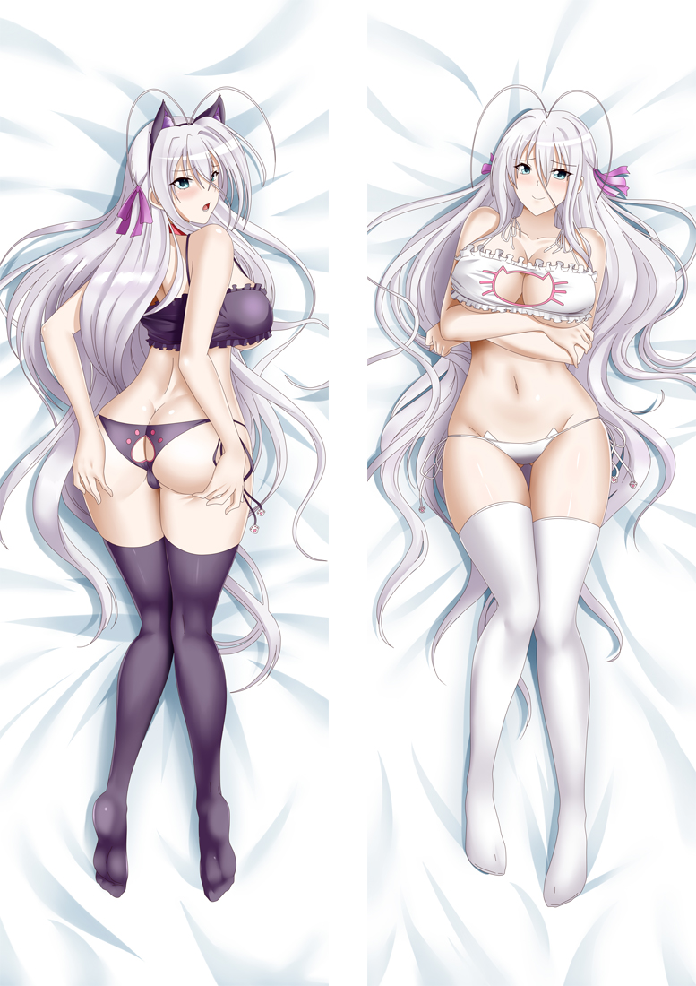 High School DxD Rossweisse Dakimakura 3d pillow japanese anime pillowcase