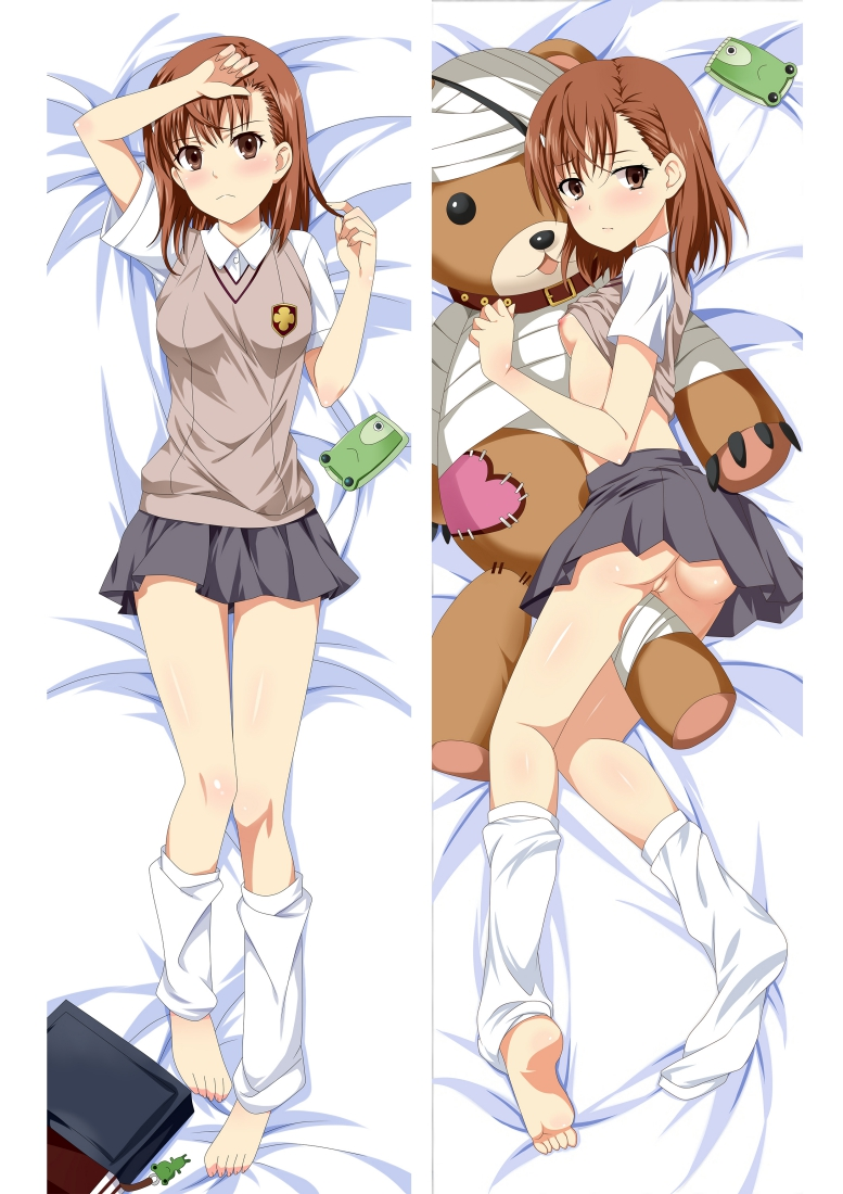 A Certain Scientific Railgun Mikoto Misaka Long anime japenese love pillow