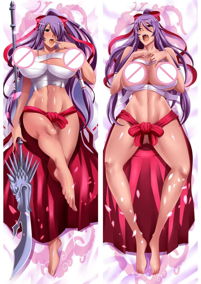 Battle Vixens Kanu Unchou Dakimakura 3d pillow japanese anime pillowcase