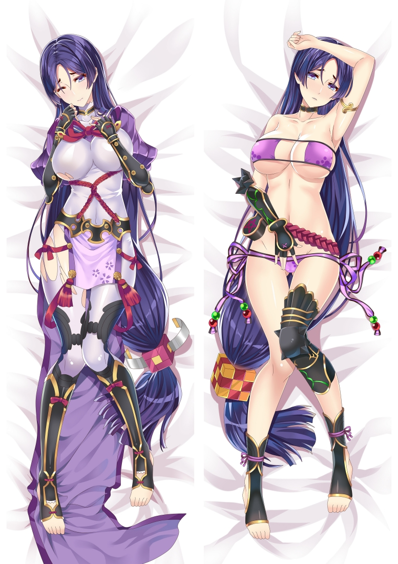 FateGrand Order Minamoto no Raikou Anime Dakimakura Japanese Love Body Pillow Cover
