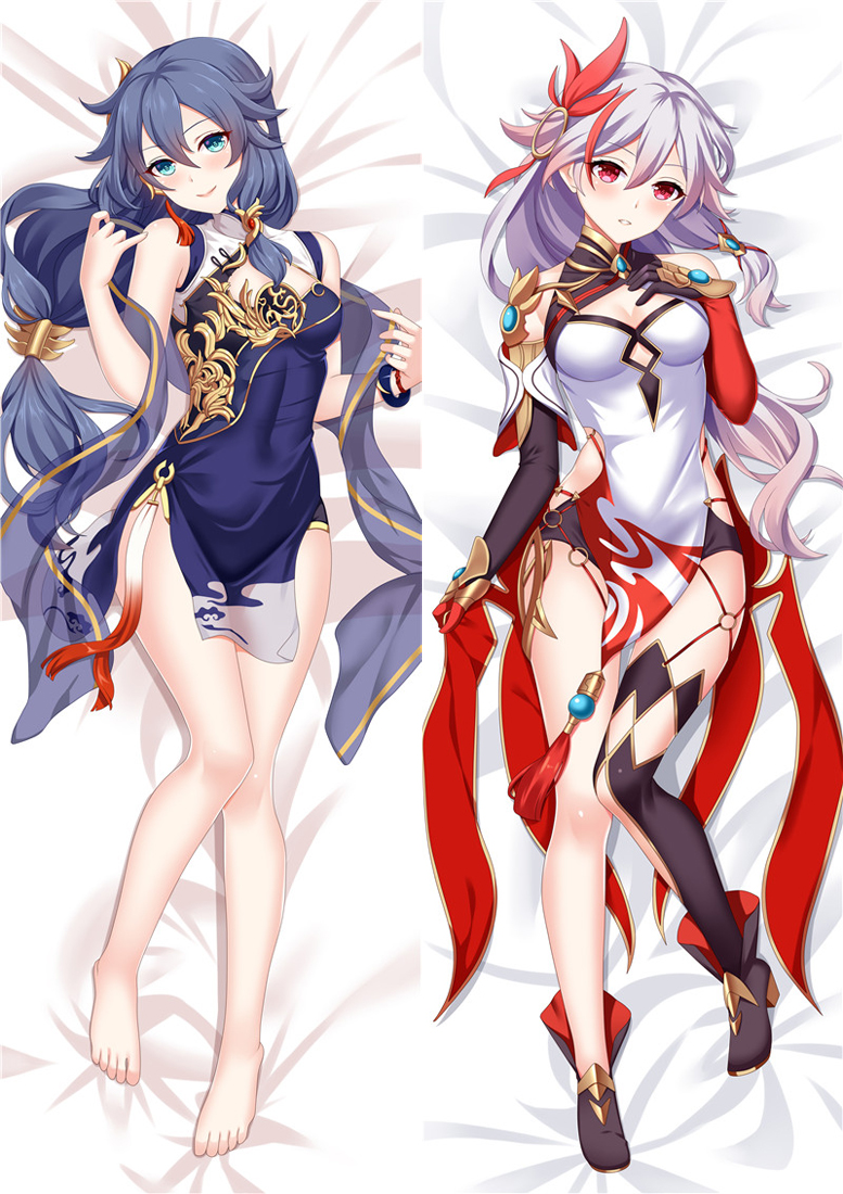 Honkai Impact 3 Anime Dakimakura Japanese Hug Body Pillow Case