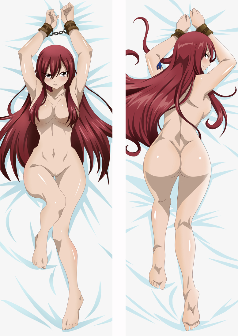 Fairy Tail Erza Scarlet Dakimakura 3d pillow japanese anime pillowcase