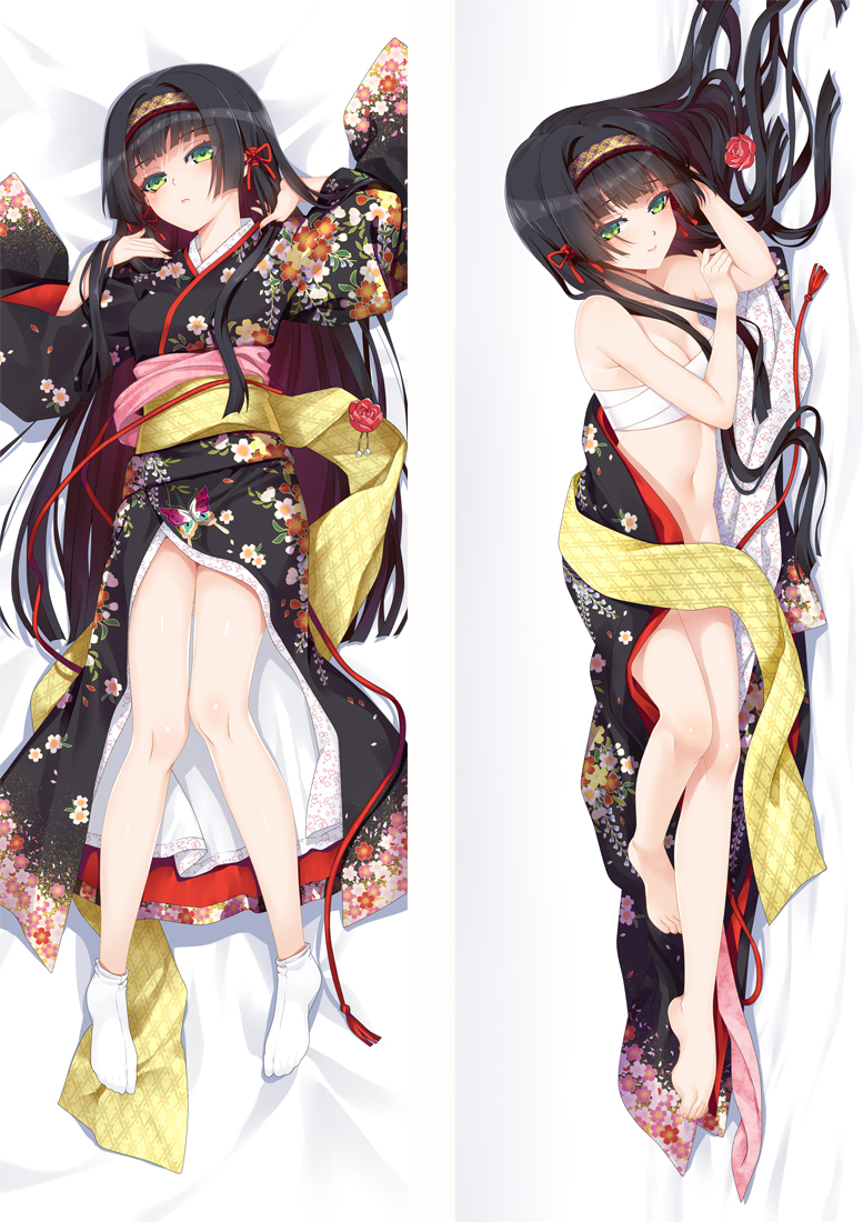 Bishoujo Mangekyou Renge Anime Dakimakura Japanese Love Body Pillow Cover