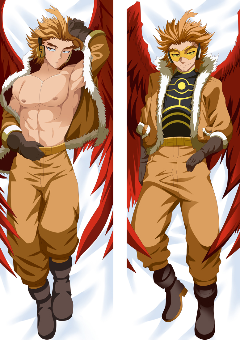 My Hero Academia Hawks Anime Dakimakura Japanese Hugging Body PillowCover