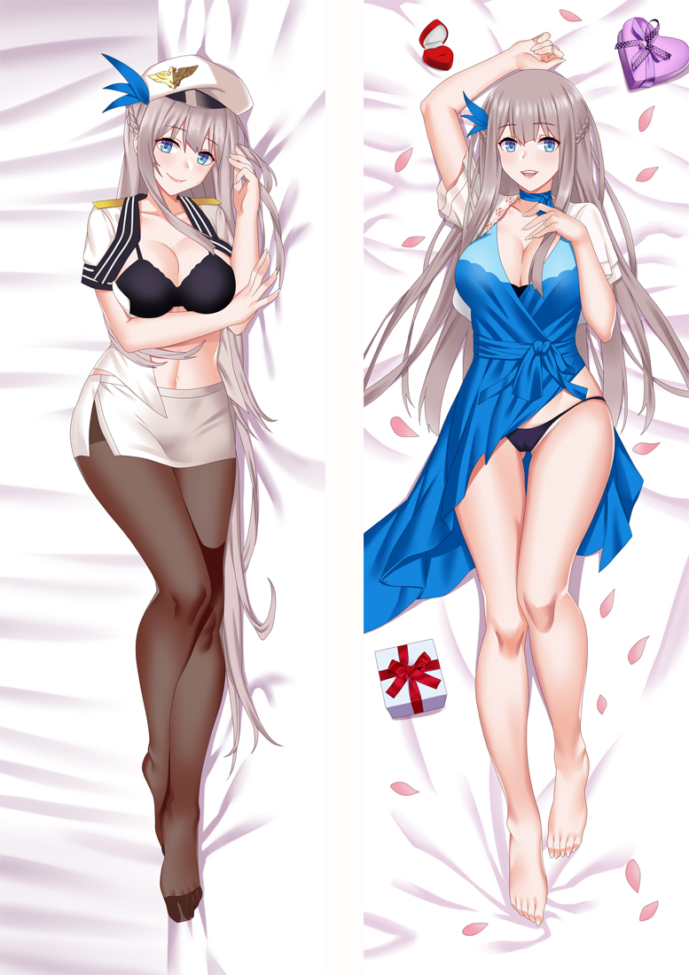 Warship Girls Lexington Anime Dakimakura Hugging Body PillowCases